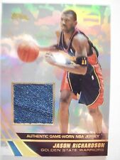 2004 TOPPS BASKETBALL GAME JERSEY JASON RICHARDSON  WARRIORS JE-JRI B54
