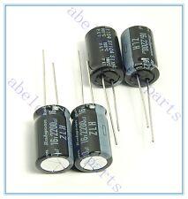 (4pcs) 2200uf 16v Rubycon Electrolytic Capacitor 16v2200uf ZLH Low impedance