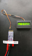 Eagle Tree V3 Datenlogger mit LCD Display Anzeige Watt mAh A V E-Bike Pedelec