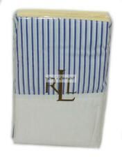 RALPH LAUREN Greenwich Modern Blue Stripe STANDARD PILLOWCASES NEW