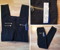 Nygard Slims Denim Jeggings Women's Small Pull On Stretch New with tags MRSP $59