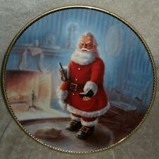 "Duncan Royale ""Portraits of Santa"" Collectors Plate 1985 Limited Edition"
