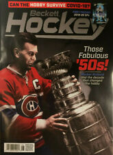 New June 2020 Beckett Hockey Card Price Guide Magazine With Rocket Richard