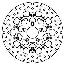 Brembo-Bremsscheibe für HARLEY DAVIDSON FXSTB NIGHT TRAIN, 1584 cm³, 2008 - 2010