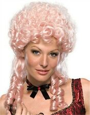 Adult Womens Strawberry Blonde Marie Antoinette Victorian Maiden Costume Wig