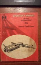 international harvester McCormick Mower Conditioner 816 Operator's Manual