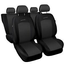 Schwarze Sitzbezüge für OPEL FRONTERA Autositzbezug VORNE