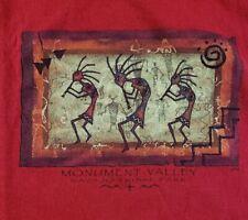 Monument Valley T Shirt Tee Streetwear Rasta Navajo Tribal Park Vtg Mens XL Prep