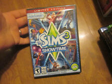 THE SIMS 3 SHOWTIME PC EXPANSION PACK LIMITED EDITION BRAND NEW FACTORY SEALED