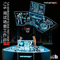 TOYS-BOX 1/6TH WorkShop Scene Test Desk 2.0 Fit for Iron Man Model Collection