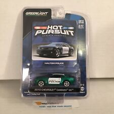 #3 GREEN MACHINE * 2010 Chevrolet Camaro SS * Greenlight Hot Pursuit * NB20