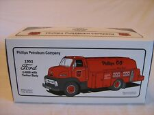 First Gear Phillips 66 1953 Ford C600 Fuel Tanker 1:34  19-1955