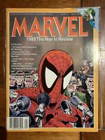 MARVEL - 1989 - THE YEAR IN REVIEW - NO 1 Newsstand Copy Todd McFarlane