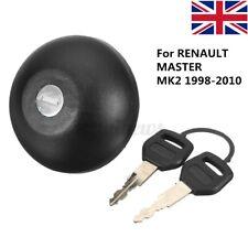 For RENAULT MASTER MKII 1998-2010 Locking Fuel Petrol Diesel Cap & 2 Keys  # *