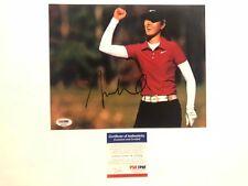 Michelle Wie Hot! signed autographed LPGA golf 8x10 photo PSA/DNA coa