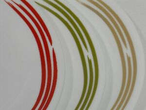 Corelle Joy Manago STROKES 12x10 SERVING PLATTER Plate *Apple Green or Sand Tan