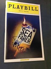 THE SEAFARER CIARAN HINDS SIGNED PLAYBILL BROADWAY THEATER
