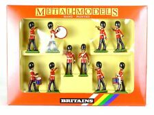 Britains Metal Models 7206 Scots Guards Drums And Bugles