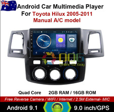 "9"" Android 9.1 Quad Core Car Non DVD GPS For Toyota Hilux 2005-2011 Head Unit"
