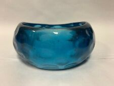 Dorothy Perkins Teal Blue Pattern Asymmertrical  Shaped Bangle