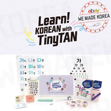 [Pre-Order] Learn! KOREAN with TinyTAN For Beginner Official K-POP Authentic MD