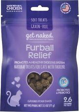 Get Naked Grain Free Furball Relief Soft Treats for Cats with Trays 2.5oz ..