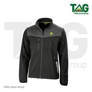 Genuine John Deere Softshell Zip-off Black Jacket - MCS3053800