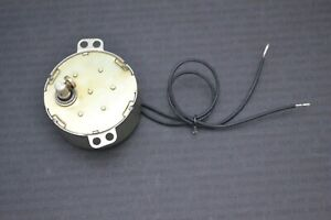 SYNCHRONOUS MOTOR HEAVY DUTY 12 VOLT AC WITH 12mm ROD AND SCREW FIXING (1250)