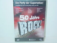 "*****DVD-VARIOUS ARTISTS""50 JAHRE ROCK!""-2004 McOne Media DoDVD*****"