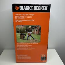 BLACK and DECKER BV-006 Blower/Vacuum Leaf Collection System for B&D Blower/Vacs