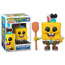 Funko POP ! Vinyl Spongebob with Gary #916 Animation NEW!!!