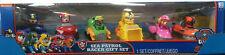 Nickelodeon 6Pc Paw Patrol Sea Patrol Racer Gift Set Kids Toy