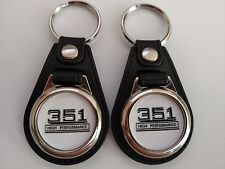 FORD MUSTANG 351 KEYCHAIN 2 PACK SET