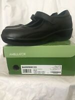 Apex Ambulator Shoes Women's Size 10.5 Black Mary Jane Biomechanical Footwear