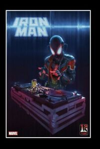 Iron Man #12 Miles Morales 10th Anniversary Rahzzah Variant Free Ship In Gemini