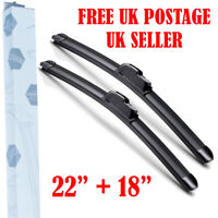 "WIPER BLADES FOR JAGUAR X-TYPE BRAND NEW FRONT WINDSCREEN  22""19"" 2000 - 2009"