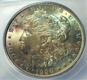 1900 USA Morgan Silver Dollar ICG MS64 Condition Toned KM# 110  (732)