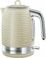Russell Hobbs 24364 Inspire 1.7L Fast Boil Jug Kettle 3000W in Cream - Brand New