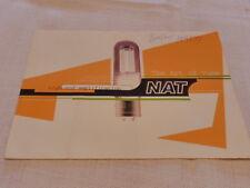 NAT the Art of Tube Broshure Original