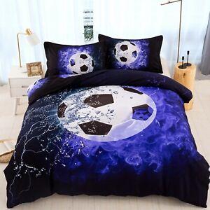 Football Duvet Cover Bedding Set Twin/Queen Size for Comforter Pillow Case Sport