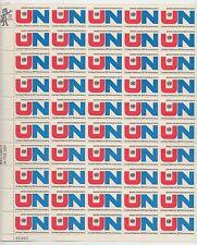 sheet of 50 UNITED NATIONS 25th ANNIVERSARY / U.N. stamps - Scott #1419 MNH 6c