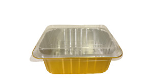 221/1800 Aluminum Foil Bakery Tray Togo Hot and Cold food Containers with Lid