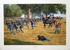 """Bradley Schmehl- """"Gettysburg- The Inevitable Confrontation"""" 6 Civil War prints"""