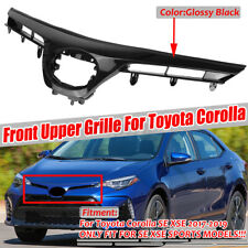 Front Upper Hood Grill Grille Black For Toyota Corolla SE XSE SPORTS 2017-2019