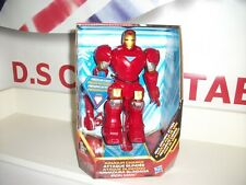 Marvel REAL WALKING ACTION IRON MAN armour charge NEW hasbro postage discount