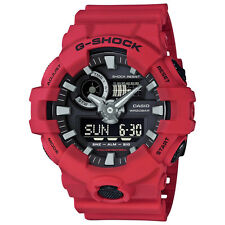 -NEW- Casio G-Shock Red Watch GA700-4A