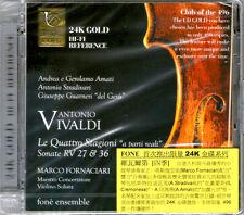 """Vivaldi: Le Quattro Stagioni """"a parti reali"""" Limited 24K Gold CD only 496 copies"""