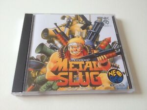 SNK Neo Geo CD CDZ Metal Slug NAZCA cover and case replacement