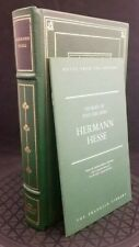 Hermann Hesse Stories of Five Decades Franklin Library Greatest Writers Leather
