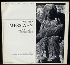 Messiaen La Nativité du Seigneur Ferdinand Klinda LP NM -, CV EX